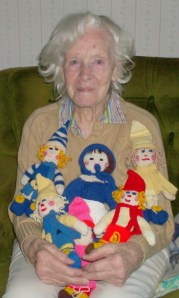 She loved to knit . . .