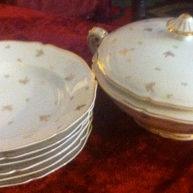bought some Limoges at the vide grenier